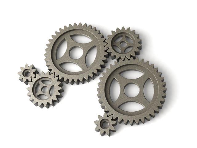 Wir arbeiten dran, dass alle Räder reibungslos ineinandergreifen.