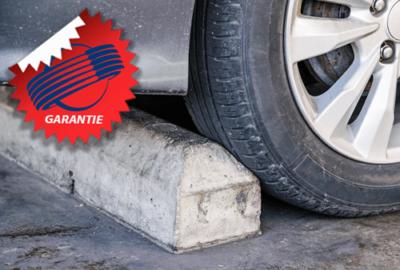 Platter Taxi-Reifen